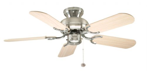 "Fantasia Capri 36"" Stainless Steel Ceiling Fan 110255"